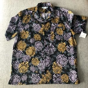 Urban Outfitters Silky Floral Shirt *NEW*
